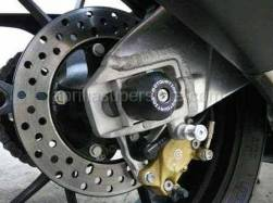 Tuono 1000 - OEM RSV Tuono 1000 2006-2009 PARTS - Motovation - RSV4 Swingarm Axle Sliders by Motovation