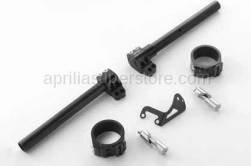 RSV4 1000 - Handlebars, Mirrors and Controls - Aprilia - ADJUSTABLE CLIPON BARS RSV4
