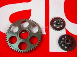 Engine - Starter Motor - Aprilia - Sprag clutch gear Z=53