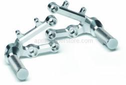 Accessories - Acc. - Cyclistic Components - Aprilia - Adjustable foot rests Alu