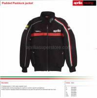 Apparel - Jackets - Aprilia - 2012 WSBK Winter Jacket Black Size M USA Size S -M -L -XL