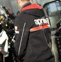 Apparel - Jackets - Aprilia - Soft shell Black Paddock- S
