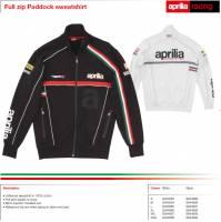 Apparel - Sweaters - Aprilia - 2012 WSBK Sweater White Size XXL USA Size XL -XXL