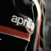 Apparel - Shirts - Aprilia - 2012 WSBK Short Sleeve Shirt Black Size M USA Size S -M