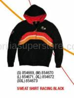 Apparel - Sweaters - Aprilia - SWEAT SHIRT RACING BLACK - S