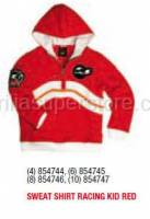 Apparel - Sweaters - Aprilia - Sweater RACING KID (RED) - 4 -6