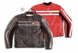 Apparel - Jackets - Aprilia - 2004 RED LEATHER JACKET 4