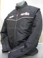 Apparel - Jackets - Aprilia - JACKET Black Padded Racing M