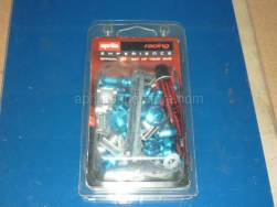 Accessories - Acc. - Cyclistic Components Ii - Aprilia - Fairing screws, blue Ergal