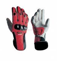 Apparel - Gloves - Aprilia - APRILIA RACING LEATHER GLOVES - XS -S