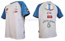 Apparel - Shirts - Aprilia - T-SHIRT REPLIC M/C -S -M -L -XL -XXL