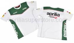 Apparel - Shirts - Aprilia - T-shirt White M/C XL