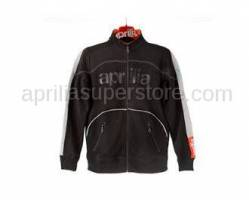 Apparel - Sweaters - Aprilia - Collection 2012 Full Zipper Sweater Black Size -S -M -L -XL