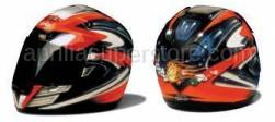 Aprilia Accessories - Visor cover kit Red Spark