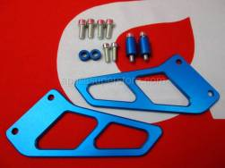 Accessories - Acc. - Cyclistic Components II - Aprilia - Toe guard, pair Ergal-Blu