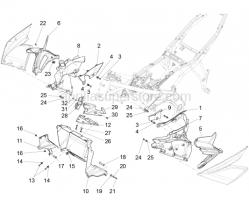 Body - Duct - Aprilia - Spring plate m5