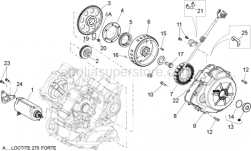 Engine - Ignition Unit - Aprilia - Sprag clutch