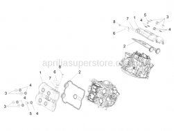 Engine - Head Cover - Aprilia - Special screw