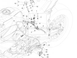 Handlebar - Controls - Clutch Control - Aprilia - Clutch pump