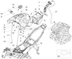 Tank - Fuel Tank - Aprilia - Hose clamp D10,1
