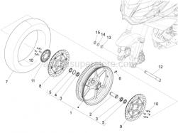 Wheels - Front Wheel - Aprilia - Tubeless tyre valve