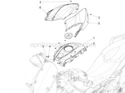 Body - Tank Cover - Aprilia - Clip m5