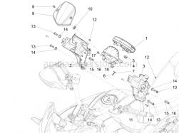 Lights - Instruments - Instruments - Aprilia - Screw w/ flange M8x25