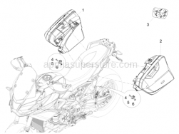 Body - Suitcases - Aprilia - Coupling