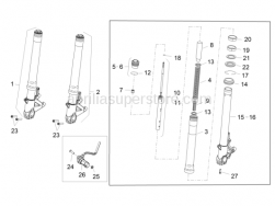 Suspensions - Front Fork II - Aprilia - NOT SPECIFIC