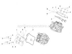 Engine - Head Cover - Aprilia - Screw M6x16
