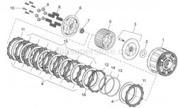 Engine - Clutch II - Aprilia - Washer 25,5x47x2,5