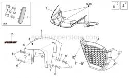 Frame - Front Body III - Aprilia - Hex socket screw M5x9