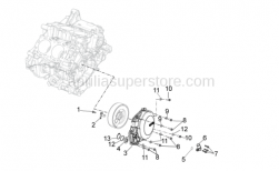 OEM Engine Parts Diagrams - Cover - Aprilia - Screw w/ flange M5x12
